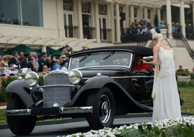 1936 Mercedes Benz 290 Cab A Pebble Beach Trophy Presentation
