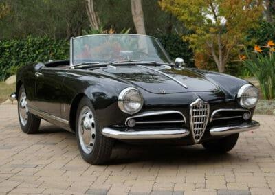 1958 Alfa Giulietta Spider