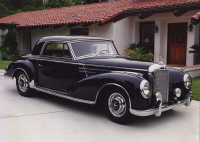 1956 Mercedes Benz 300SC Sunroof Coupe