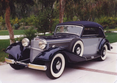 1936 Mercedes Benz 540K Cabriolet C