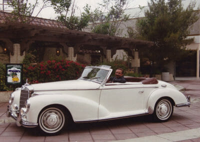 Elizabeth Taylor's Mercedes Benz 300S