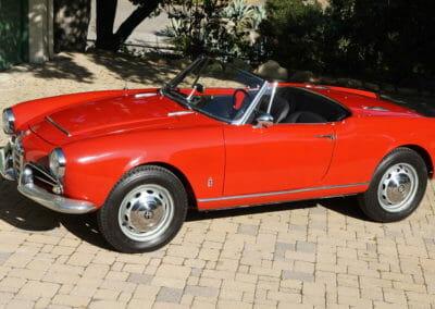 1965 Alfa Veloce spider