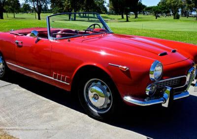 1962 Alfa 2000 Spider