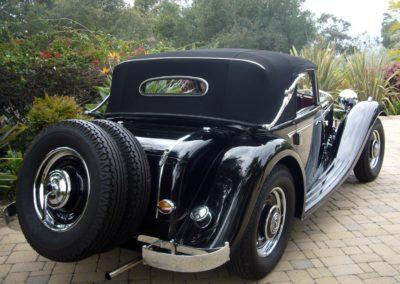 1936 Mercedes Benz 290 Cab A Pebble Beach Trophy Presentation