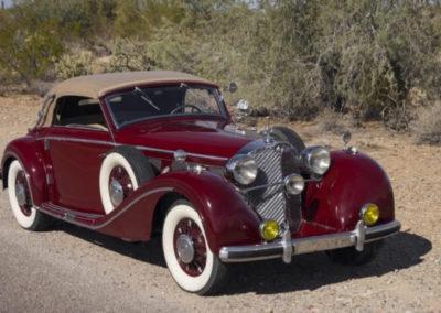 1936 Mercedes 540K Cab C