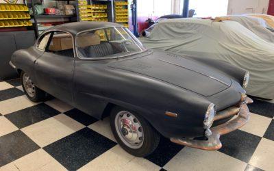 1963 Alfa Giulia Sprint Speciale – Project