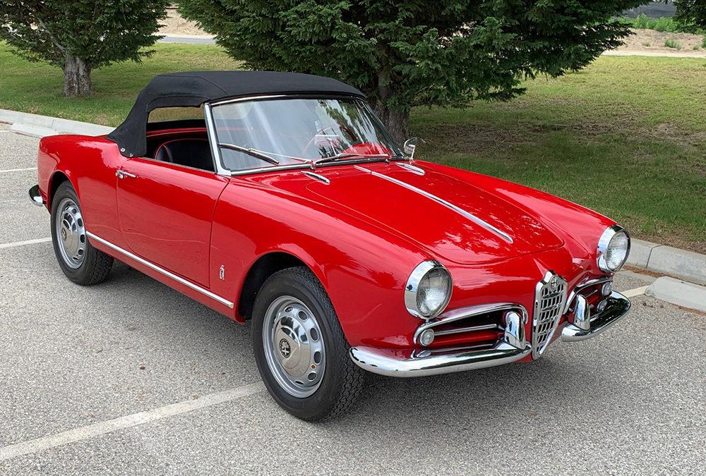 1958 Alfa Romeo 750F Veloce Spider